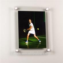 clear acrylic wall hanging stylish digital photo frames with screw