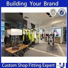 Creative design clothes racks for department stores