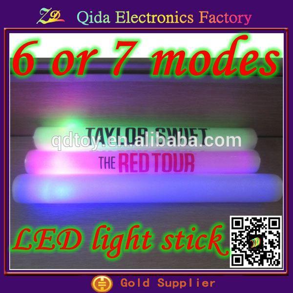 พิมพ์โลโก้1367โหมดสดใสโฟมไฟกระพริบติดเรืองแสงผลิตภัณฑ์นำ
