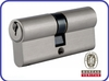 Double Open Euro profile Brass Lock Cylinder with normal key