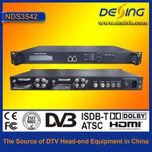 4 in 1 dvbs2 to dvbt transmodulator ,dvb-s2 to dvb-t modulator