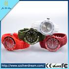 silicone watch men's women's unisex quartz silicone watches silicone interchangeable watch
