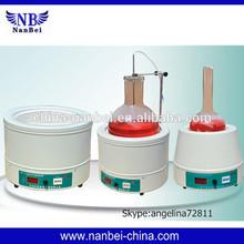 Electric digital display lab stirring heating mantle