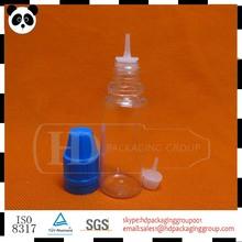 หยดพลาสติกขวด15mlและยาวปลายบางสำหรับeของเหลวน้ำe