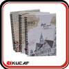 A5 Spiral Bound Hardcover Paper Notebooks