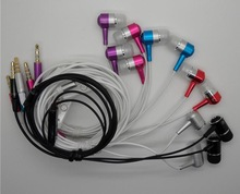 China manufacture metal in-ear cell phone headset with mic subwoofer 3.5mm earphone
