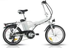 Mini electric bicycle folding