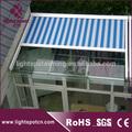 alumínio pergola com retrátil rígido roof top barraca toldo barato
