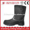 Las mujeres& los hombres de la pu de la inyección de suela de pu de cuero de la pu de la moda superior de zapatos de seguridad minera zapatos botas de cuero de arranque nieve botas de invierno