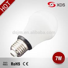 SMD2835 85lm/w china light bulbs led high power led lighting bulb 7w e27 220V