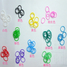 2014 Practical Economic Silicone Rubber Bands, Available in Various Colors and Shapes