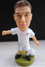 10 years OEM factory Custom world cup collectible toys miniature football player figures