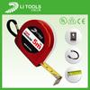 Supply Chinese top sale rhinestone tape measures/automatic tape measure/fish tape measure keychain
