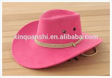 custom pink cowboy hat