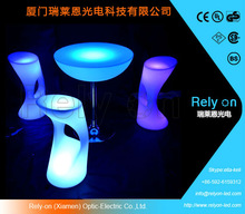 plastic led bar chairs,led light up outdoor furniture,garden chair