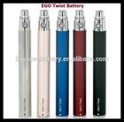 3.7v lipo e-cigarette battery ego 1100mah replacement battery for e-cigarette