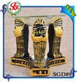 sgd89 artesanía egipcia de cáscara de coco decoración de hogar