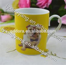 animal print thermal coffee mug,kids used ceramic mug