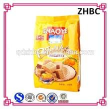 side gusset plastic wafer biscuit bag material