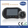 wifi pinhole camera,color hd video door bell phone,two way wireless intercom