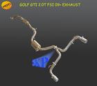 "Dual Exhaust Catback for VW Golf GTi MKVI 2.0T TFSI 2.5"" Piping 2009-2012 (Fits:VW Golf GTi)"