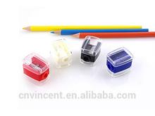 lady fancy eyeliner cosmetic pencil sharpeners