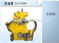 Caterpillar petite pompe à huile stock pour concessionnaire