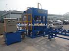 QT5-25 semi-automatic block machine/brick making/hollow block making machine line
