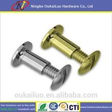 Brass binding post screw / Chicago Screw Post