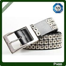 2014 High Quality Eyelet Metal Belt