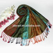 Lady's accessory beautiful ornamental scarf good match with dress shawl TSV-031