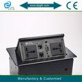 Mutifunction multimedia de mesa oculta toma de muebles de tomas de corriente( zh100- 3s)