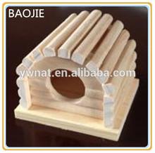 Großhandel hamster spielzeug naturholz hamster Spielzeug& hamste Käfig mit novely design
