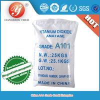 hot sale titanium dioxide anatase grade TiO2 A101,titanium dioxide rutile & anatase, TiO2 for paint, ink, plastic