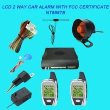 Beret 2 Way Lcd Car Alarm Manufacture