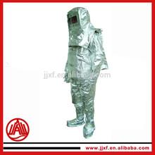 fire resistant suit with aluminum foil / aluminized fire proximity suit