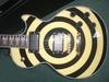 wholesale slash import guitar china made guitars yellow bull's eye