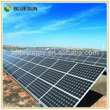 Bluesun High quality on-grid 50kw solar power plant