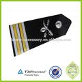 policial militar metal epaulette uniforme branco da marinha
