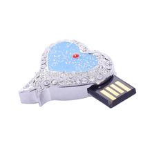 diamond usb memory flash drive heart od ocean from titantic 500gb/1000gb/1tb/2tb
