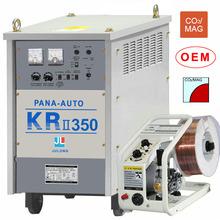 co2 mig welder with thyristor control KR-350 panasonic MIG copper tungsten electrode welding