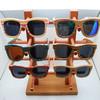 2014 Factory whoelsale Woodzee Trinity Polarized UV Wooden Sunglasses