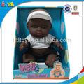 2014 nuevo producto 8.5 pulgadas negro de vinilo deporte baby doll