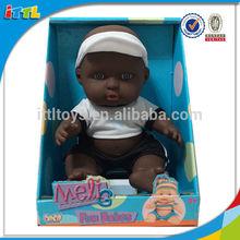 2014 new product 8.5 inch black sport vinyl baby doll