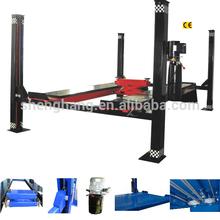 SH/CE/4000kgs 1850mm QDSH-F5022 Cheap Four Post Open Front Alignment Lift