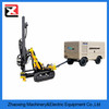 Atlas D50 cralwer portable Surface Hydraulic rotary dth drilling rig equipment