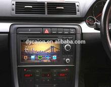 For audi a4 autoradio 2 din dvd gps/Bluetooth TV RDS IPOD USB Rear camera/Automotive for bwm a4 car dvd accessories