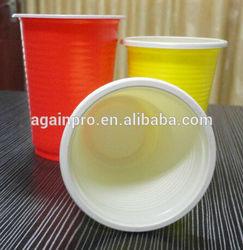 Cheap PP 8oz Disposable Color Plastic Cup