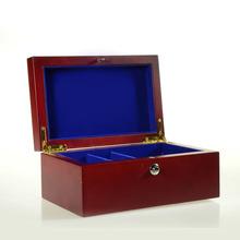Canvas Toy Storage Box,Wood Hand Carved Wood Box,Wood Ornament Storage Box,