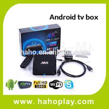 Smart Quad Core Amlogic Google Android Tv Box Remote Control